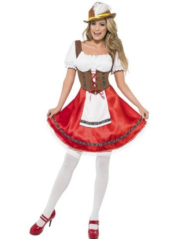 Costume bavarese donna taglia m