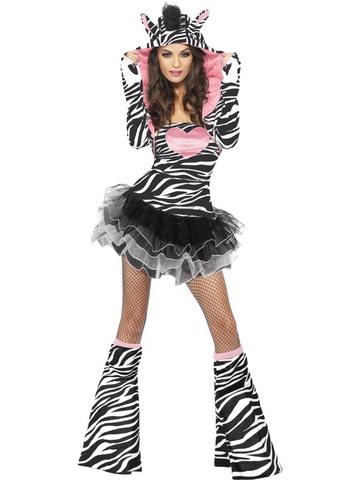 Costume zebra sexy taglia s