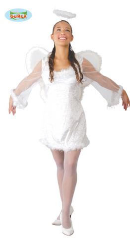 Costume angelo donna taglia m