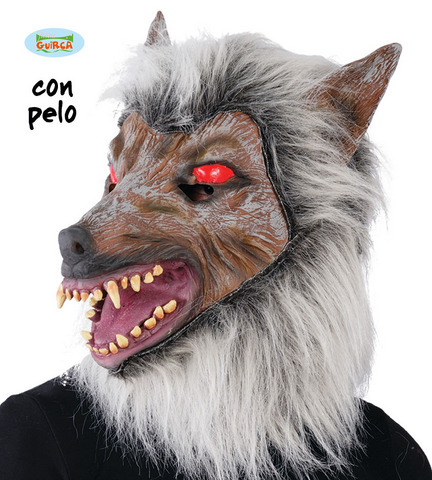 Maschera lupo mannaro
