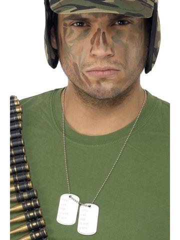 Accessorio placchette militari soldato