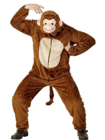 Costume scimmia taglia m