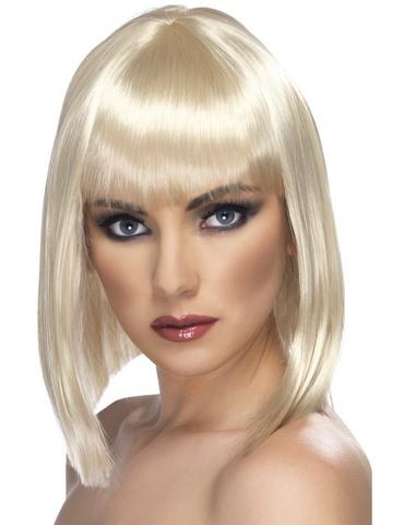 Parrucca glam bionda