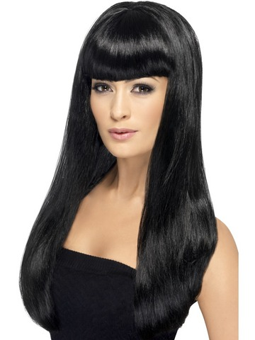 Parrucca lussuria nera