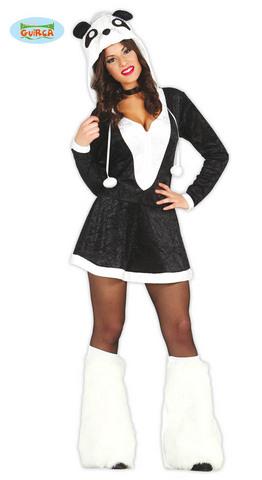 Costume panda sexy taglia s-m