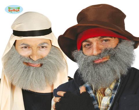 Accessorio barba grigia