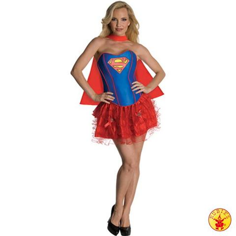 Costume supergirl taglia m