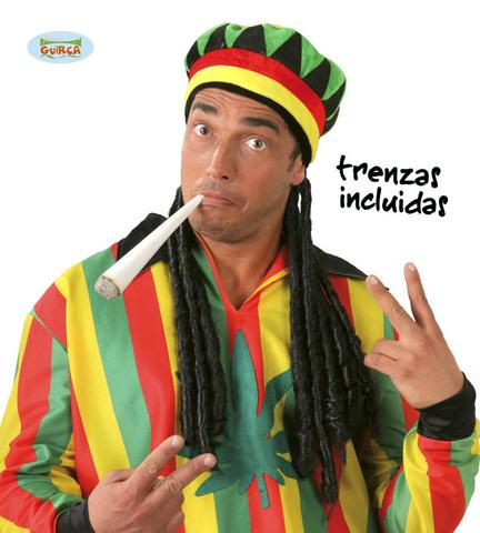 Accessorio di carnevale cappello cappello jamaicano