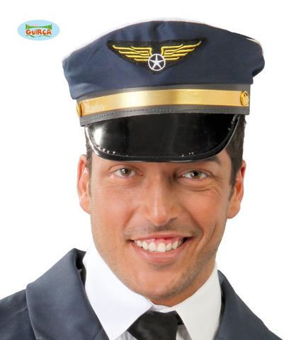 Accessorio di carnevale cappello pilota aereo