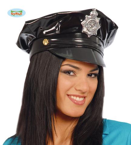 Accessorio di carnevale cappello polizia