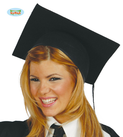 Accessorio di carnevale cappello studente