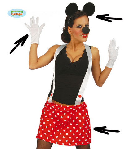 Kit di carnevale da minnie