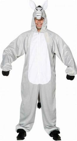 Costume peluche asino