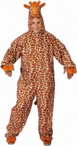 Costume peluche giraffa