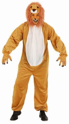 Costume peluche leone