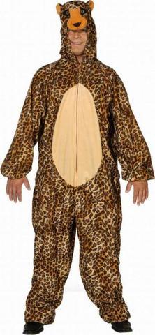 Costume peluche leopardo