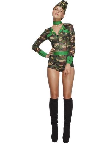 Costume Soldatessa Sexy Taglia Xs