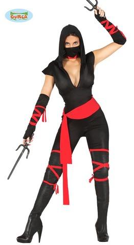 Costume Ninja Sexy Taglia S