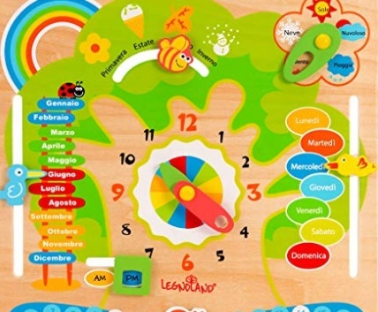 Calendario perpetuo per bambini