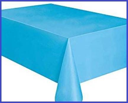Tovaglia carta rotolo azzurra