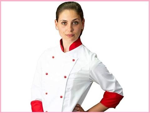 Divisa cuoco donna bianca