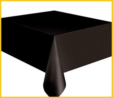 Tovaglia nera stoffa