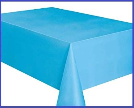 Tovaglia carta azzurra rotolo