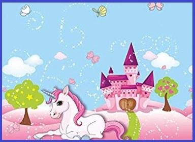 Tovaglia unicorno party