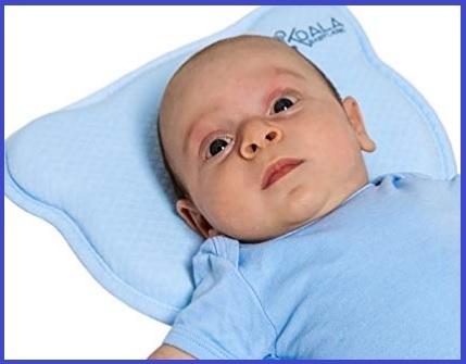 Cuscino neonati testa piatta