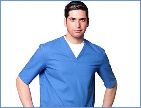 Divisa ospedaliera casacca uomo