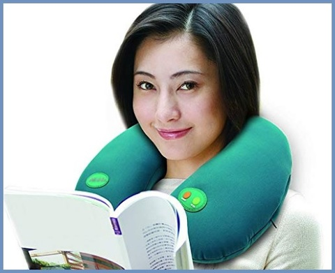 Cuscino cervicale massaggiante