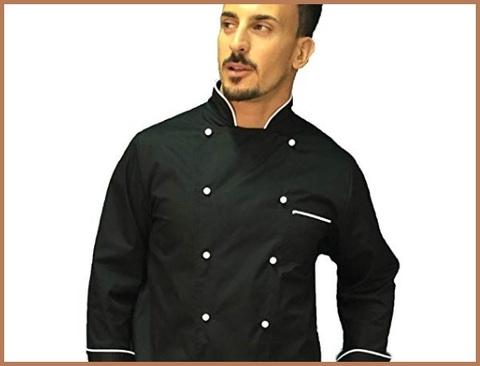 Casacca nera da chef