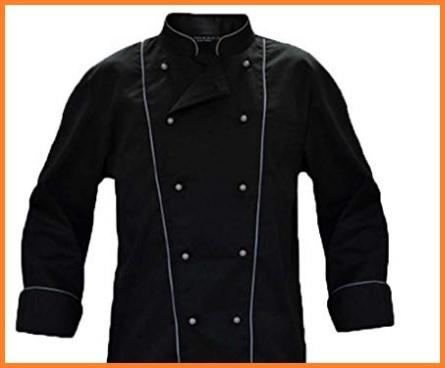 Chef giacca nera
