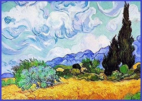 Pannello Arredo Van Gogh