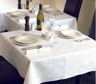Tovaglia catering bianca