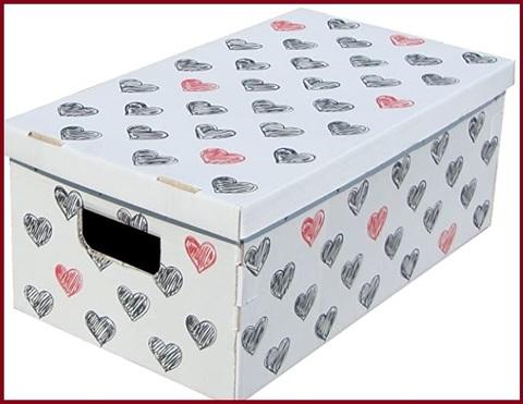 Scatole di cartone con coperchio per armadi