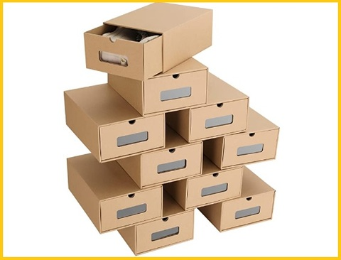 Scatole per ordinare scarpe