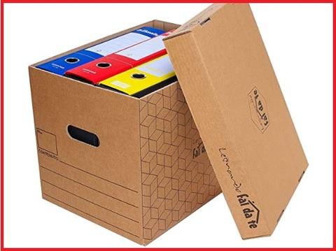 Set Completo Per Traslocare Cartoni Nastro Adesivo E Carta