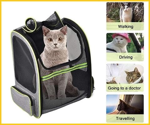 Trasportino gatti doppio
