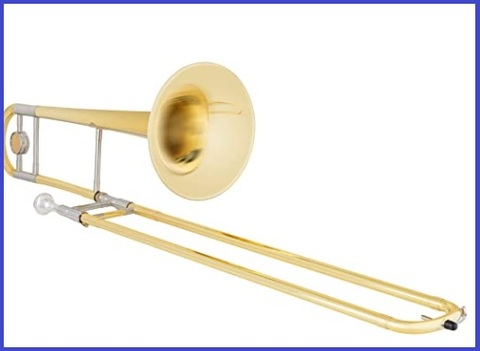 Trombone classic strumento musicale