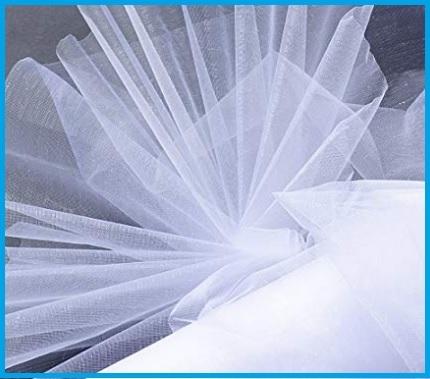 Tulle Bianco Rotolo Matrimonio