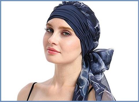 Copricapo turbante donna femminile