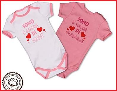 Tutine neonato bimba 0-3 mesi cotone