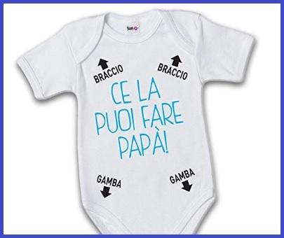 Tutine neonato divertenti con scritte
