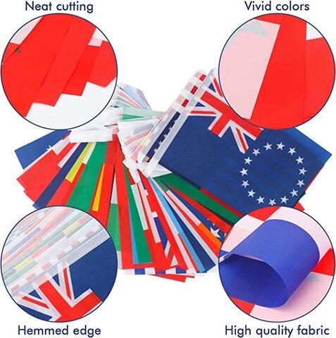 Bandiere Del Mondo In Tessuto