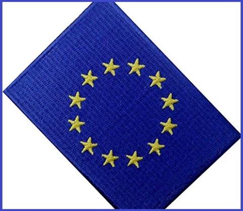 Bandiere Europa Adesive