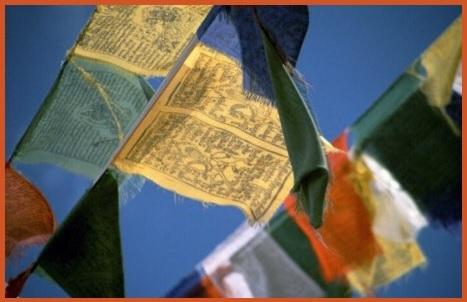Bandiere Tibetane Originali