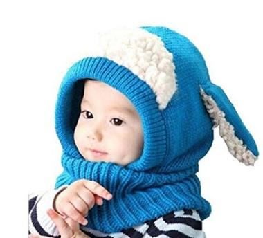Cappuccio Cappello Imbottito Per Neonati Con Orecchie