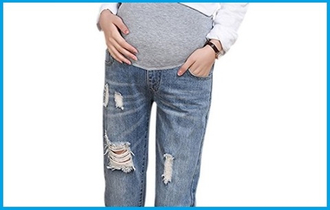 Jeans Premaman Strappati