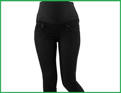 Jeans premaman nero